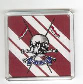 QUEEN'S ROYAL LANCERS FRIDGE MAGNET